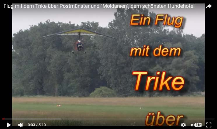Video-Trikeflug Seehotel Moldan